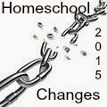 2015 Homeschool Changes: Physical Changes