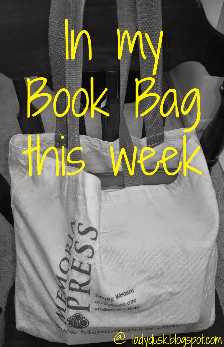 Book Bag for January 22, 2015