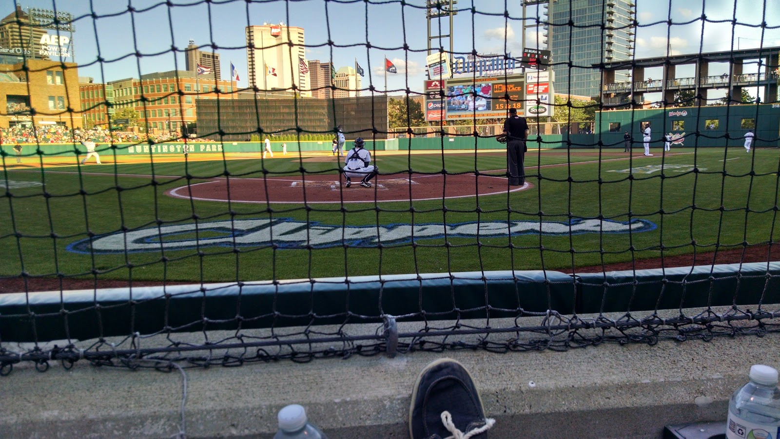 Wordless Wednesday: Columbus Clippers, Ring Your Bell!