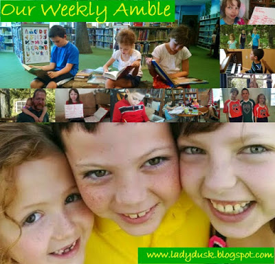 Our Weekly Amble for August 31 through September 4, 2015