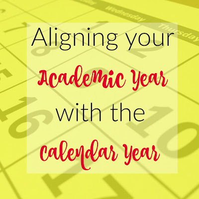 Aligning your Academic Year with the Calendar Year