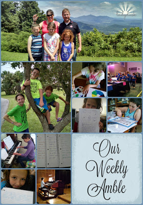 Our Weekly Amble: July 25-29, 2016