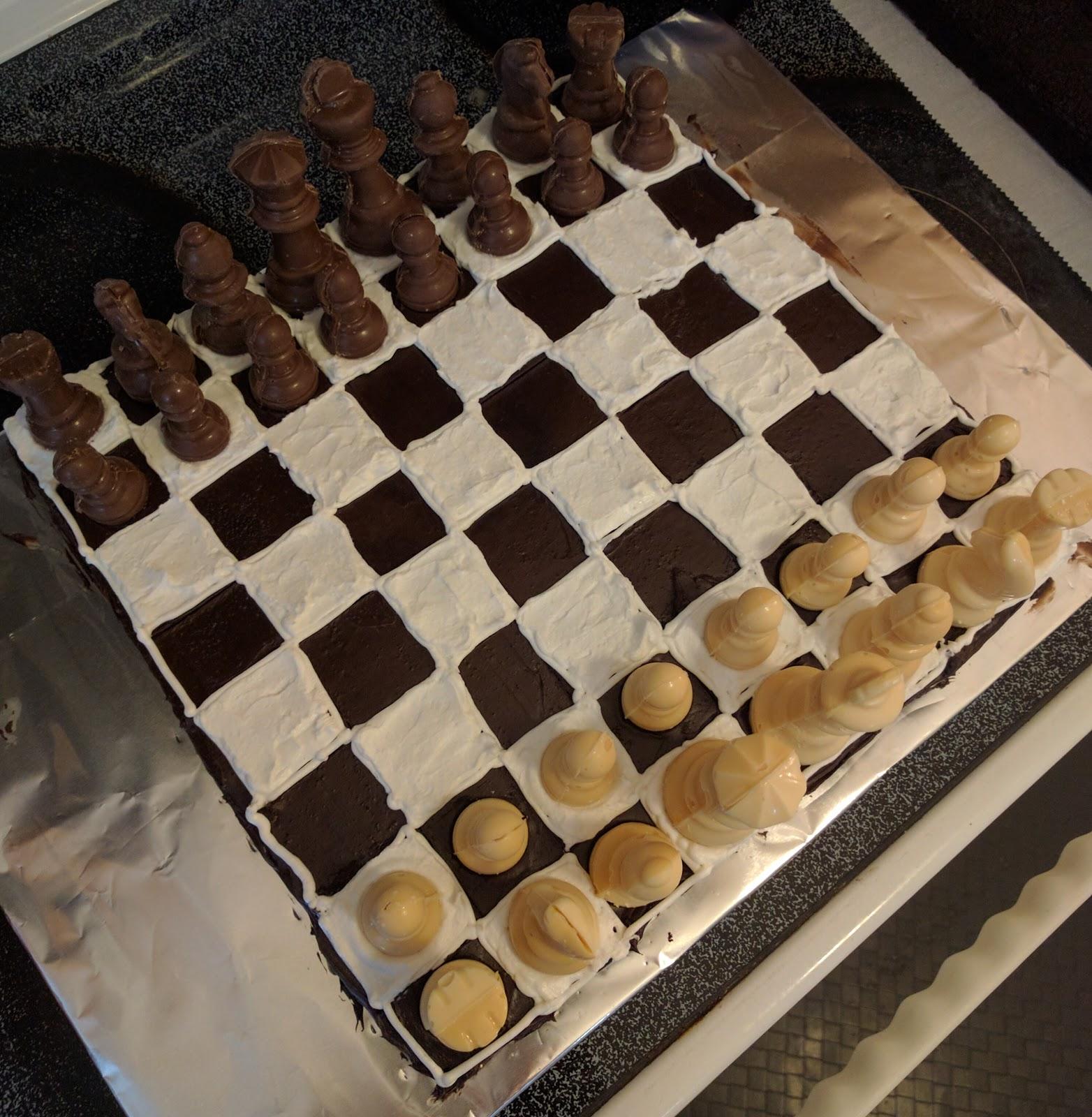 Wordless Wednesday: N-boy's Chess Birthday